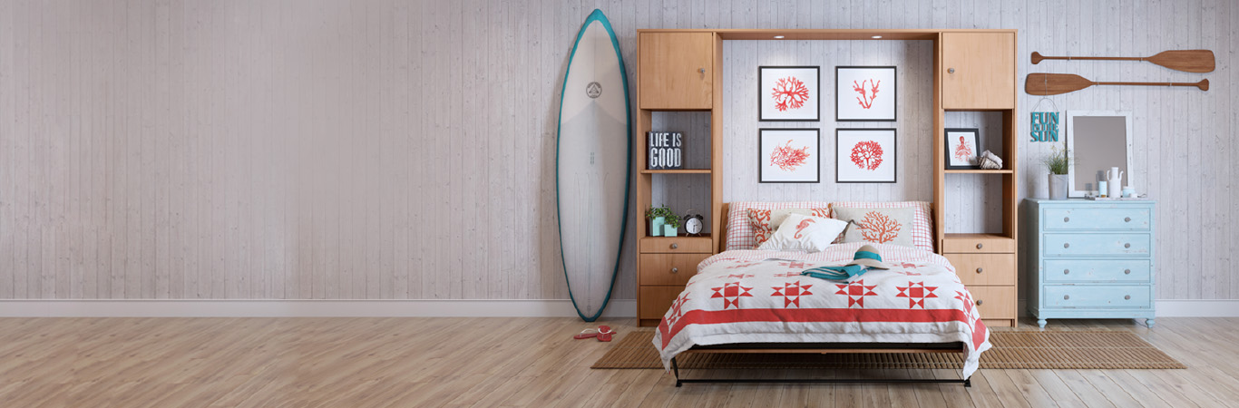 Beach House Murphy Bed