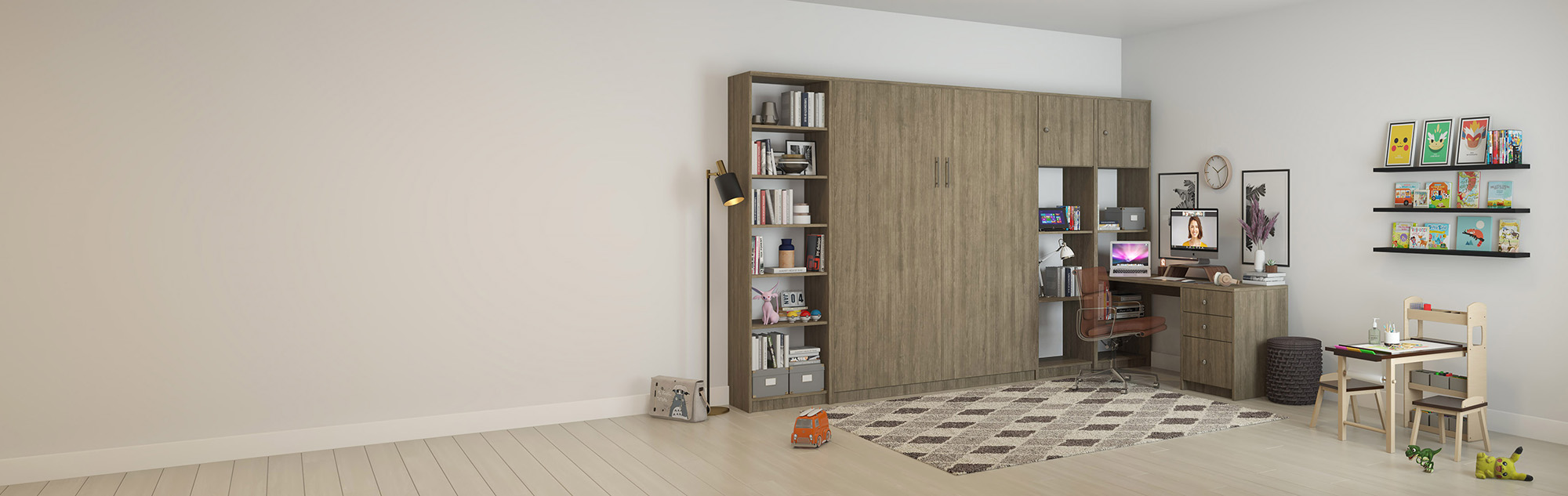 Murphy Wall Beds Work from Home